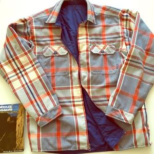 Patagonia Reversible Flannel Jacket size L